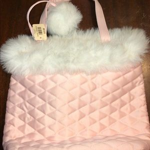 NWT Bath and Body Works Pink Patch bag